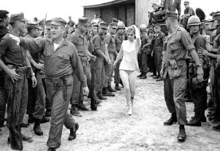 Ann-Margret Thanks Soldiers -